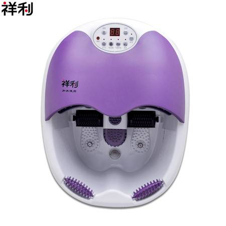 祥利洗脚盆热风烘干自动按摩泡脚盆CH-3566足浴盆
