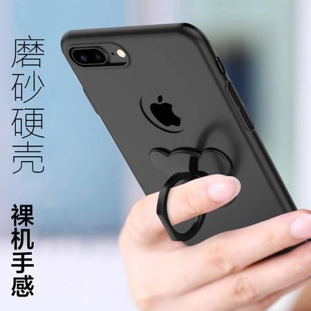 苹果7plus保护套苹果6指环支架磨砂超薄男女硬6plus B