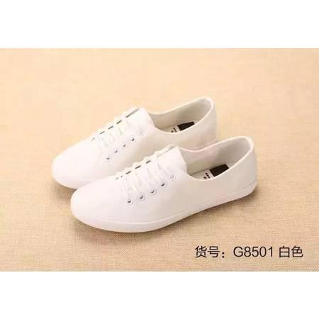 【四平馆】包邮 杰飞乐新款平跟韩版帆布鞋 8501