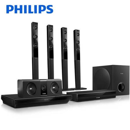 Philips/飞利浦 HTB5580/93 无线3D蓝光5.1家庭影院WIFI音响套装