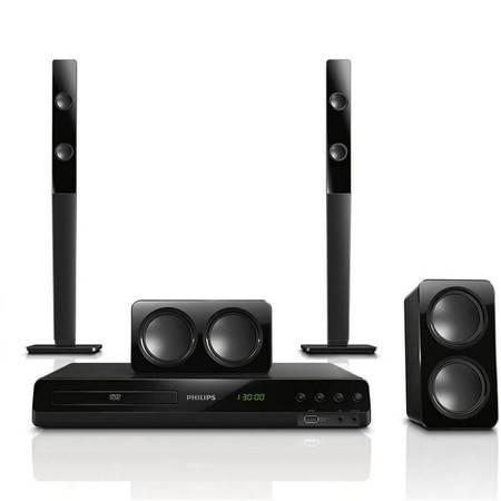飞利浦(PHILIPS)HTD3540 音响 音箱 家庭影院 DVD 5.1声道音箱 高清1080P