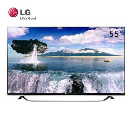 LG 55UF8500-CB 55英寸 IPS硬屏 4K高清 3D网络智能 平板液晶电视机
