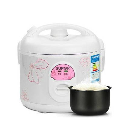 苏泊尔(SUPOR)电饭煲 5L/升 大容量 简单易控波纹发热盘电饭锅 CFXB50YB7F-65