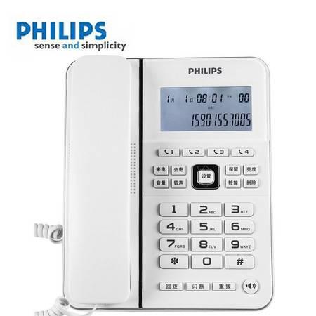 飞利浦(PHILIPS)TD2815D来电显示电话机(白色)