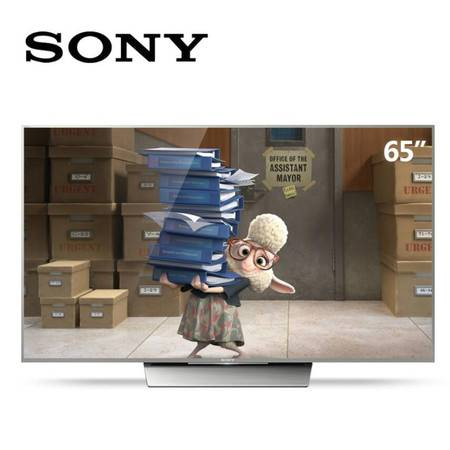 Sony/索尼 KD-65X8500D 65英寸智能安卓网络超清4K液晶平板电视机