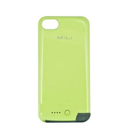 米力 苹果iPhone5s背夹电池iPhone5 SE 超薄背夹充电宝 绿色