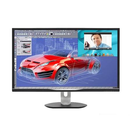 飞利浦 BDM3270QP 32英寸 AMVA广视角 10.74亿色 多视窗 智能人体工学 多接口
