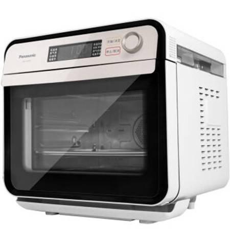 松下/PANASONIC NU-JA100W 家用电烤箱15L 多用途 空气炸烘焙发酵餐具消毒蒸烤箱