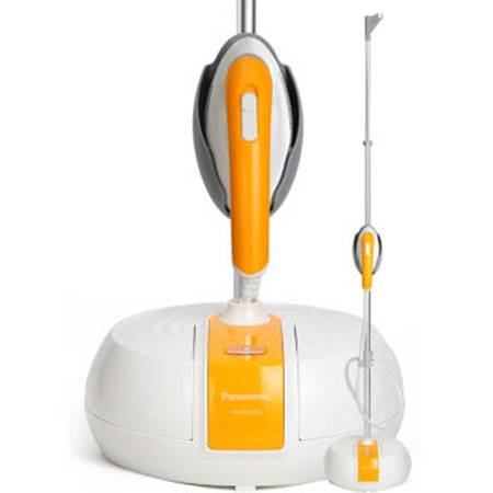 松下/PANASONIC 挂烫机电熨斗NI-GSA055头部加热熨烫系列(橙色)