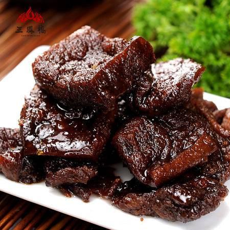 无锡特产 中华老字号 三凤桥 辣味卤汁豆腐干200g  真空熟食