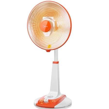美的/MIDEA NPS10-13A美的小太阳取暖器 家用办公宿舍暖风机升降摇头省电烤火炉电暖气