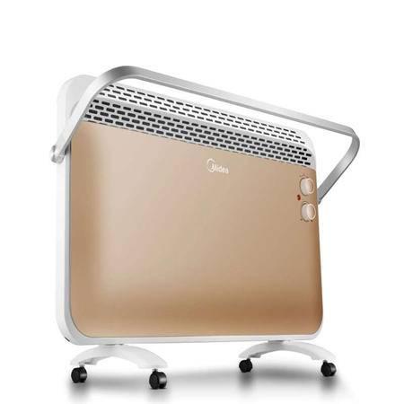 美的/MIDEA 美的 NDK22-16A 取暖器 对衡式取暖器 IPX4360°防水溅,浴室洗澡安