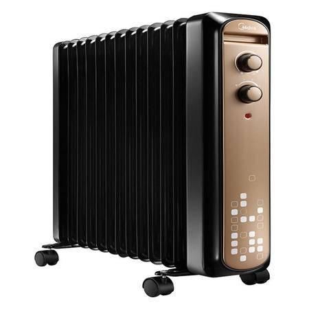 美的/MIDEA 美的 NY2211-15C 取暖器 落地式 电热油汀 人性化温控功能 防烫金刚防