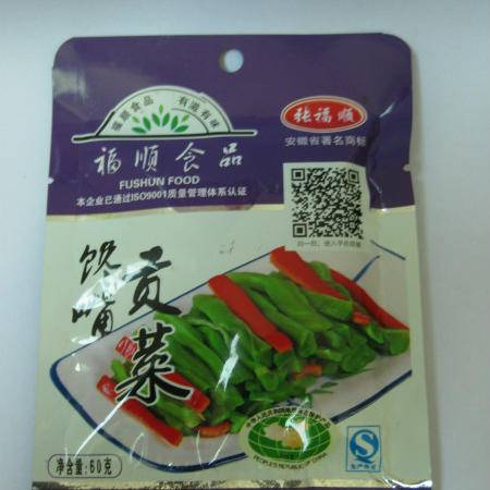 张福顺馋嘴贡菜苔干 60g