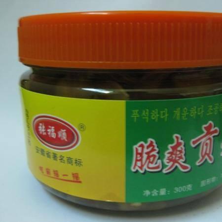 张福顺脆爽贡菜 300g