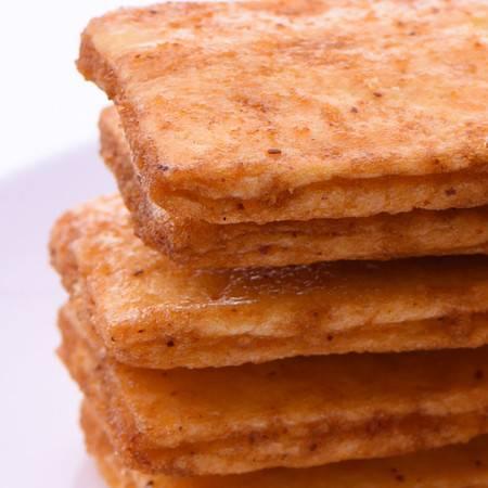 【蒲议】160克袋装麦烧 五谷粗粮 办公室休闲膨化零食 香辣烧烤味