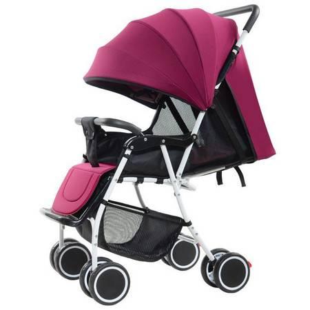 轻便折叠婴儿推车可坐可躺小孩四轮推车便携儿童伞车宝宝手推车夏