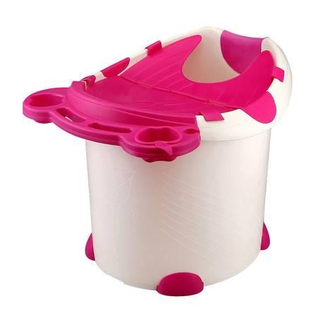 儿童洗澡桶加大号宝宝浴桶洗澡盆泡澡桶加厚可坐保温塑料婴幼儿沐浴桶盆