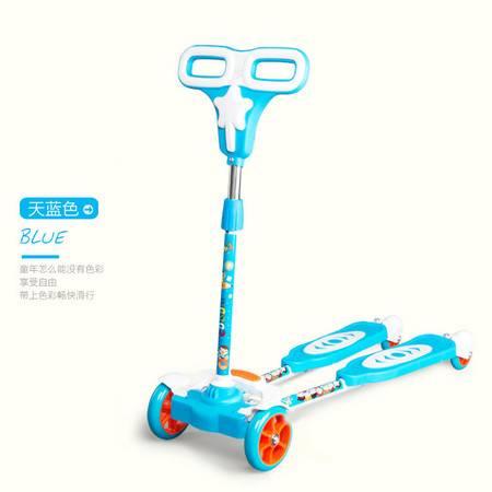 儿童滑板车蛙式滑行车四轮摇摆车蛙式剪刀车踏板车滑滑车小孩扭扭车男女孩