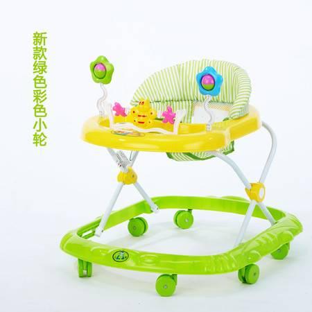 婴儿学步车多功能助步车带音乐玩具车滑行车6/7-18个月防侧翻
