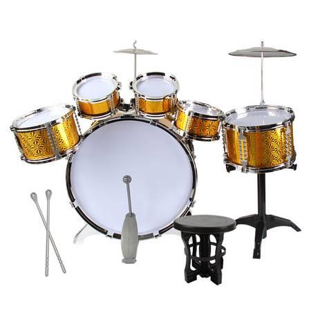 儿童玩具早教架子鼓初学者敲打击乐器爵士鼓音乐玩具