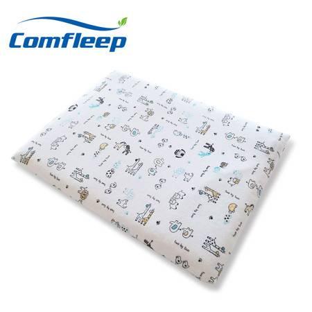 Comfleep康馥莉泰国原装进口天然乳胶枕头1-3岁婴幼儿童平面枕2.5