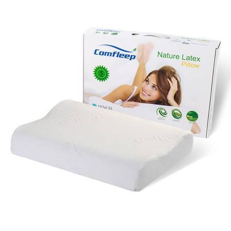 Comfleep康馥莉天然泰国乳胶枕头颈椎枕成人护颈枕颗粒按摩枕进口