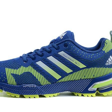 Adidas阿迪达斯男鞋马拉松跑步鞋飞线跑鞋三叶草女鞋运动鞋