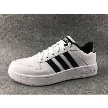 Adidas 阿迪达斯NEO板鞋低帮三叶草女鞋情侣运动休闲鞋