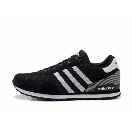 阿迪达斯adidas 男鞋跑鞋李晨同款 针织飞线 女鞋运动鞋 跑步鞋