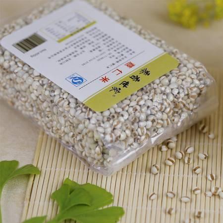 【黍香世家】河北农家新小薏米仁五谷杂粮薏仁米 400gx3袋