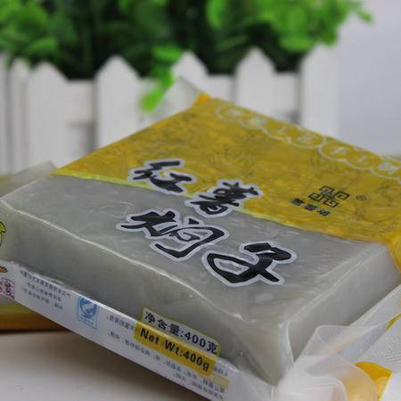 【邮乐许昌】禹州特产焖子400g*8袋绿色有机