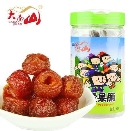 【大南山】山楂蜜饯150g/罐 无添加原味山渣干片果脯蜜饯凉果零食