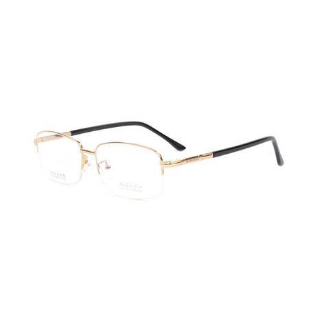 TILU 半框金属近视镜 绅士 合金 近视眼镜 H00308