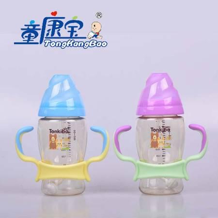 童康宝宽口不倒翁PPSU黄金大奶瓶+300ml