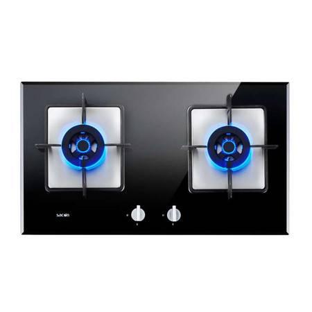 Sacon/帅康 QA-E5-68B钢化玻璃燃气灶/灶具/5.0KW超大火力热效率高节能