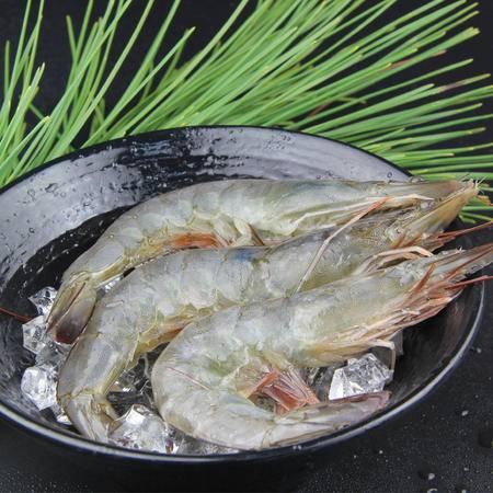海虾海捕大对虾500g/袋(中)18-25头左右深海野生海虾明虾不缩水