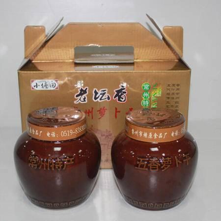 坛装萝卜干礼盒