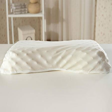 萱洁家纺天然乳胶按摩枕