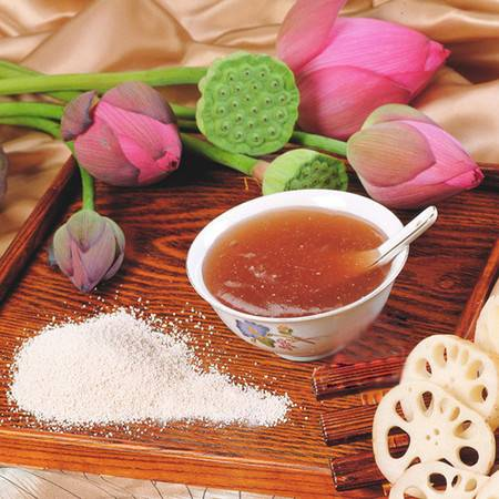湖北荆门特产几多好藕粉 500g/袋装 纯天然精制藕粉