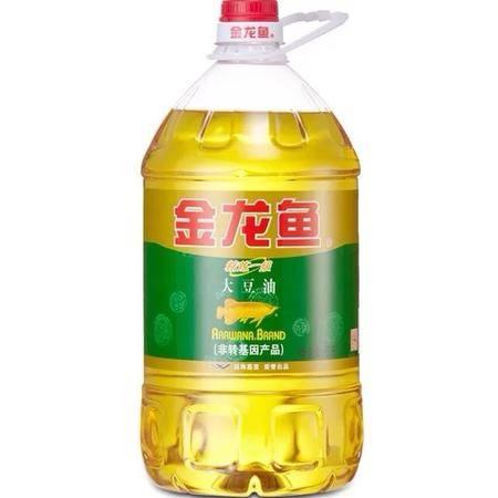 金龙鱼精炼一级大豆油非转5L