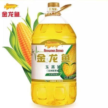 金龙鱼植物甾醇玉米油5L