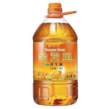 金龙鱼特香花生油5L