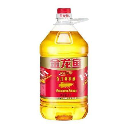 金龙鱼黄金比例食用调和油4L