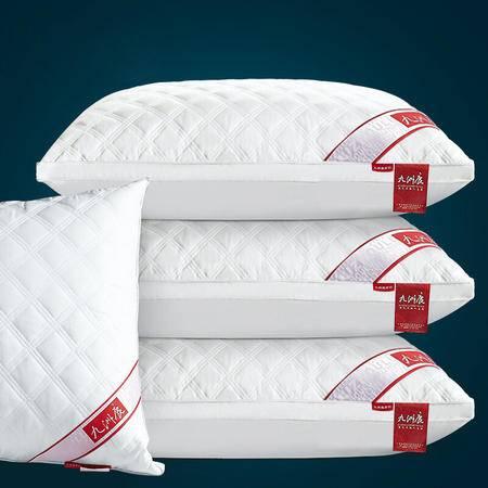 九洲鹿 全棉枕头枕芯酒店羽丝绒纯棉枕芯护颈枕成人枕头枕芯