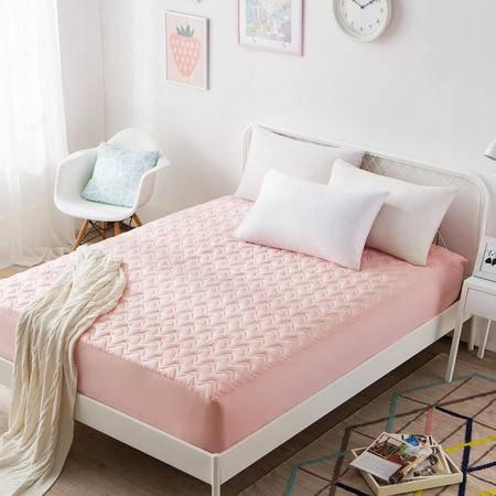 九洲鹿 可水洗防滑夹棉床笠式床垫床套席梦思保护套180*200cm