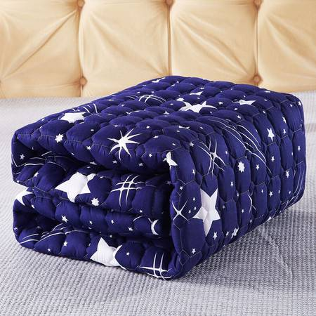 九洲鹿 榻榻米床垫学生宿舍床褥子可折叠单人双人防滑垫被 软床垫 180x200cm