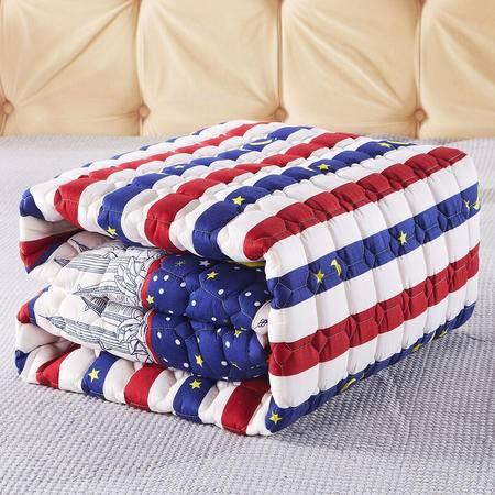 九洲鹿 榻榻米床垫学生宿舍床褥子可折叠单人双人防滑垫被 软床垫 150x200cm