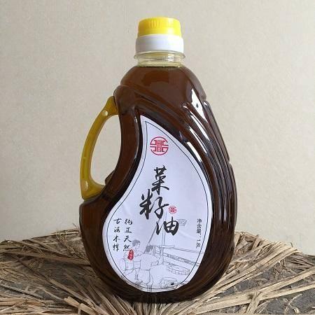 舌尖2力荐 徽州木榨菜籽油 1.8L实惠装