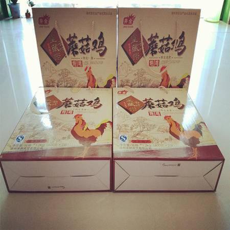 蘑菇鸡4盒超值装